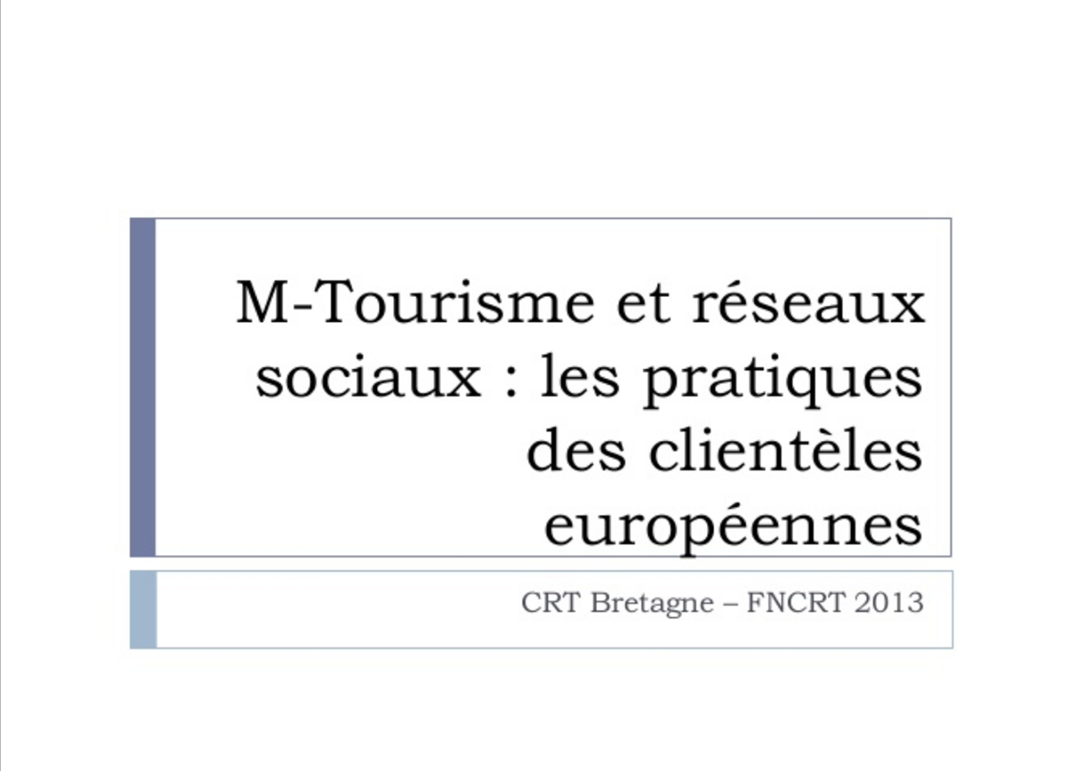 M-Tourisme