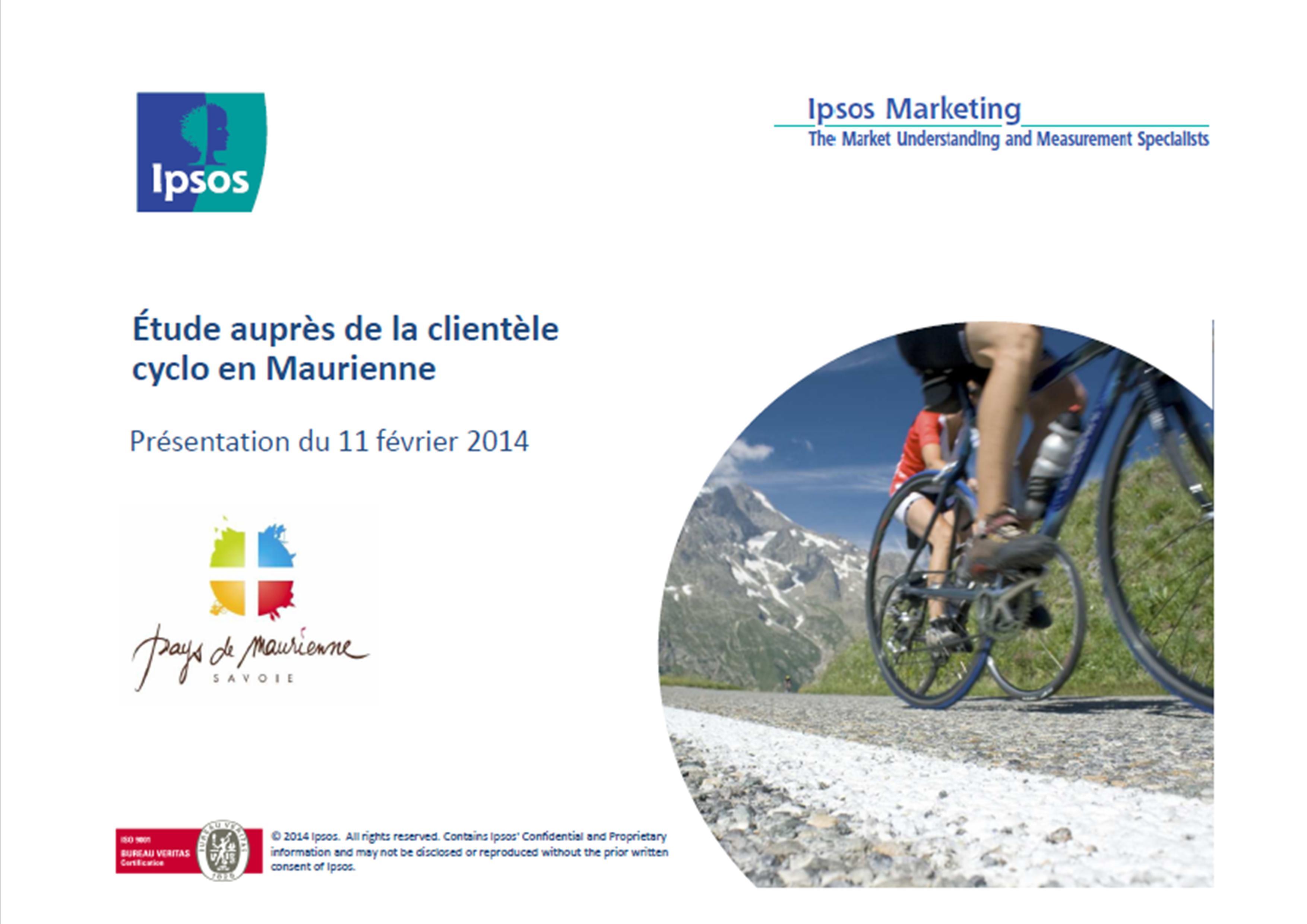 Enquête Cyclo 2014