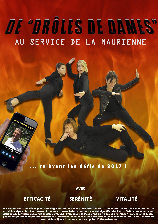 Drôles de Dames 2017 affiche